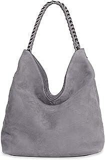Rebecca Minkoff Women's Chain Hobo, Grey