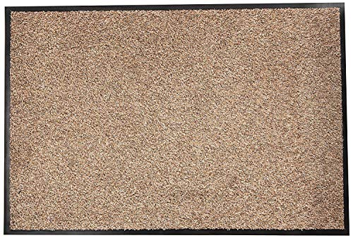 Dandy door William Armes, Soft Cotton Washamat deurmat 90 x 60 Beige