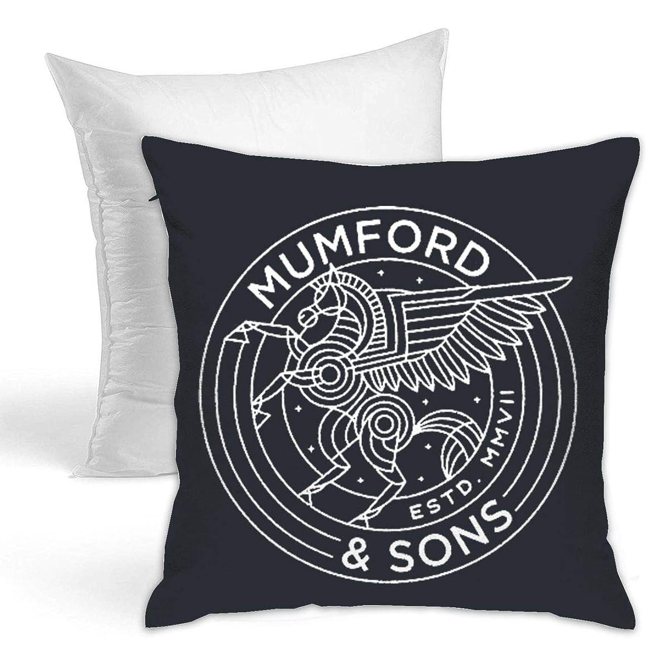 管理者キャンバス気候Mumford & Sons クッション ソファ背当て 装飾枕カ 座布団 枕 車用品 ホーム 部屋 インテリア 飾り 抱き枕 1個