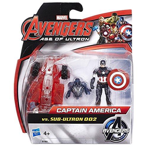 Marvel Avengers Age of Ultron – Captain America vs. Sub-Ultron (Stil 002) [UK Import]