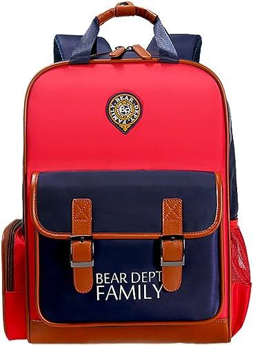 Bear Dept Family, Sac à dos enfant  Unisexe (enfant) Rouge rouge s