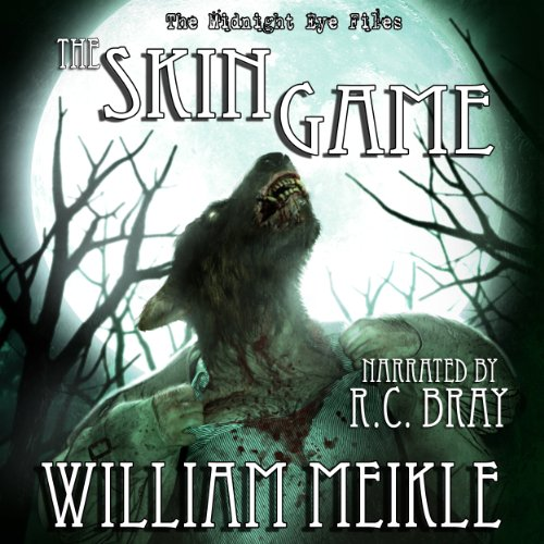The Midnight Eye Files: The Skin Game audiobook cover art