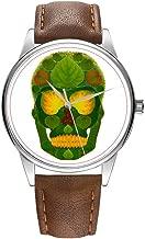 Herenhorloge bruin Cortex kwarts horloge voor mann...