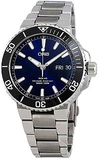 Oris Aquis Big Day Date Blue Dial Men`s Watch 75277334135MB