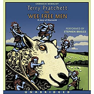 The Wee Free Men audiobook cover art