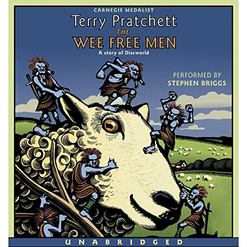 The Wee Free Men: Discworld Childrens, Book 2 cover art