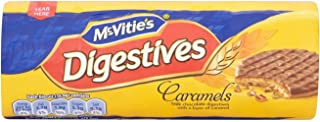 McVitie's Digestives - Milk Chocolate & Caramel (300g) - Pack of 2