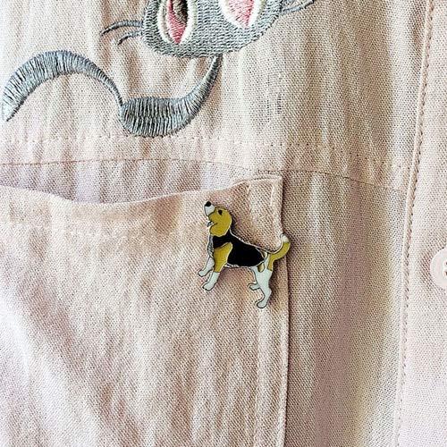 WEHONG Pin De Dibujos Animados Insignias Lindo Patrón De Perro Mascota Broches Esmalte Pin Joyería Chaquetas De Mezclilla Ropa Collar Insignia Regalos25