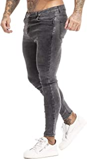 GINGTTO Mens Skinny Jeans Ripped Stretch Slim Fit Jeans for Mens Classic Denim Pants