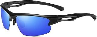 Gafas de Sol Hombre Mujer Polarizadas TR90 - Gafas Running, Gafas Ciclismo Hombre Ideales para Deporte, Pesca, MTB, Esquí, Golf, Bicicleta, etc. Gafas de Sol Deportivas Protección 100% UV400