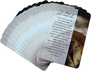 I'm There if You Need Me Inspirational Friendship Prayer Cards - Pack of 15