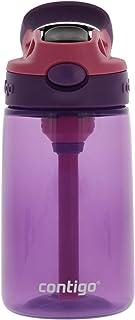 Contigo Kids Water Bottle, 14 oz with Autospout Technology – Spill Proof, Easy-Clean Lid Design – Ages 3 Plus, Top Rack Di...