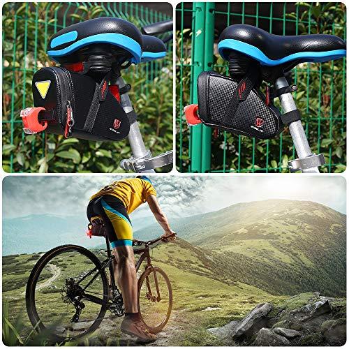 61NYKKqRipL. SL500 Save 72% off the CS Force Waterproof Bike Saddle Bag with Promo Code 72AK8NV7