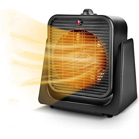Electric Fan Heater 400W Small Portable Instant Heat Free Standing