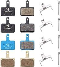 corki 4 Pairs Bike Brake Pads for Shimano B01S Deore Br-M415 M416 M445 M446 M447 M465 M475 M485 M486 M495 M515 M525 M575 M315 M375 M395 T615 T675 C501 C601 Tektro Aries TRP Aquila Auriga Pro