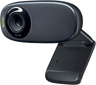 720P HD Webcam,Built-in Noise Reduction Mic,USB2.0 PC Laptop Computer Camera,Support Face Tracking, Motion Detection and A...