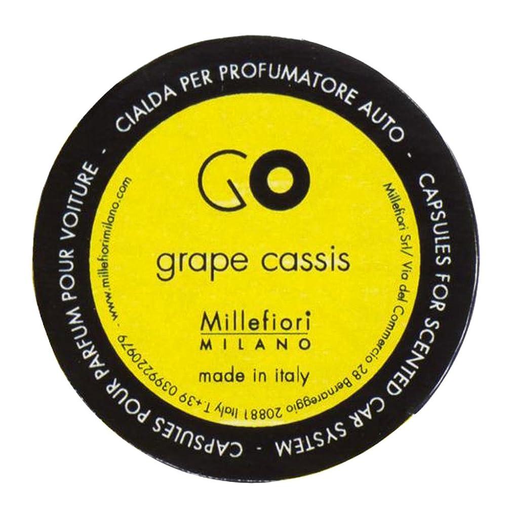 マカダム宣言同一性Millefiori カーエアフレッシュナー GO レフィル グレープカシス 1pcs RGGC