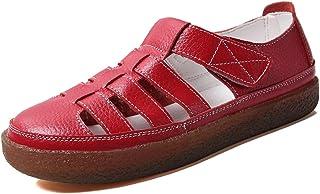Dames sandalen zomer vrijetijdsschoenen platte schoenen mocassins meisjes gesloten sandalen EU36-42