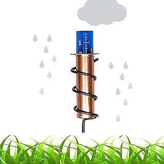 Pluviometro in rame, pluviometro galleggiante preciso per prato, pluviometro in rame più cool,pluviometro per esterni con ...