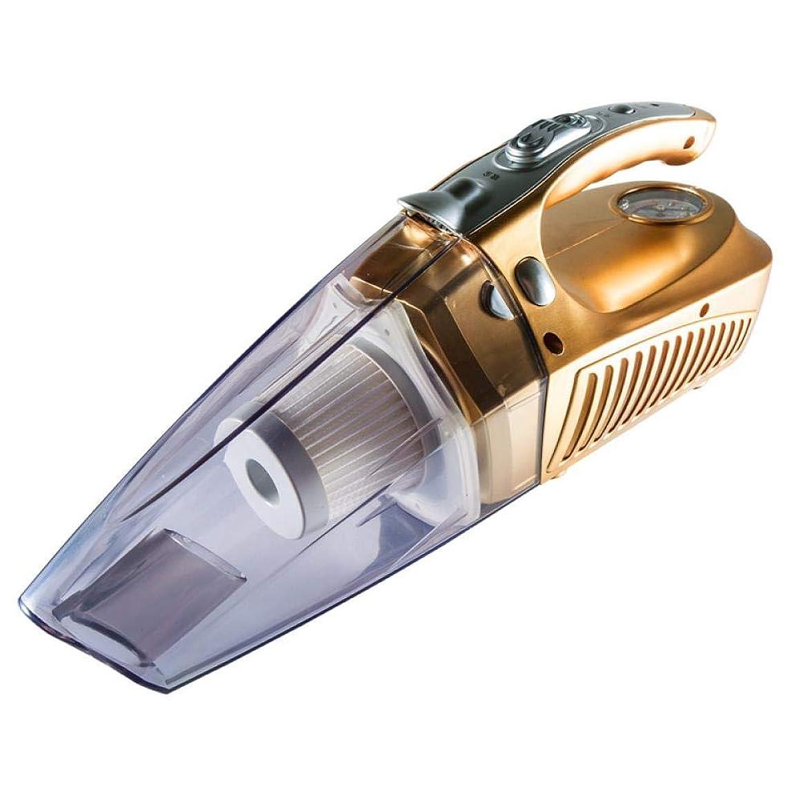快いパッチ集中的なVacuum cleaner car ﹖ car mounted hand-held vacuum cleaner car manometer car dual purpose high power four in one gha-002, Golden