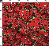 Tomaten, Gemüse, Bizarr, Surreal, Alptraum Stoffe -