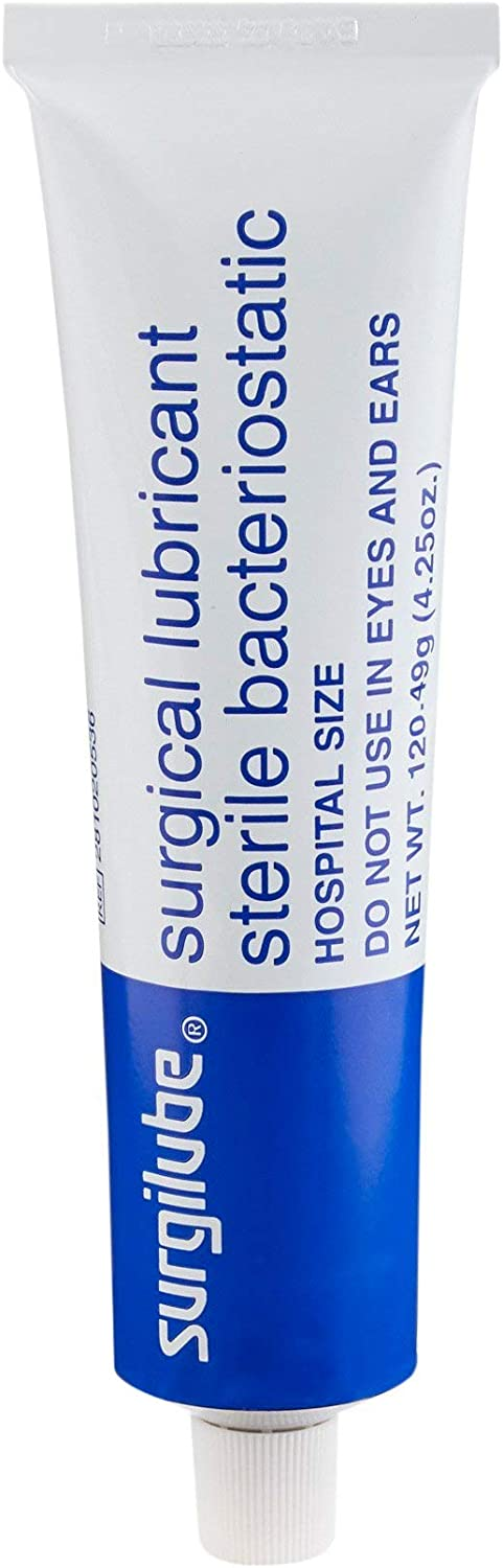 Surgilube Lubricating Store Jelly 4.25 oz. New product 281020536 Tube - P Sterile