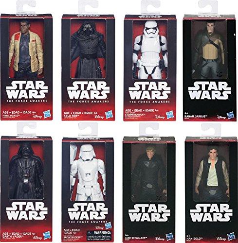 HASBRO Star Wars Action Figures Darth Vader 15cm. B3946 B3952