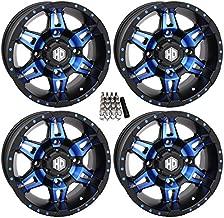 STI HD7 UTV Wheels/Rims Blue/Black 14