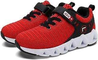 c1e736dad5ffa HoSayLike Enfants GarçOns Filles Occasionnels Maille Respirante en Plein  Air Enfants Baskets Chaussures De Course Chaussures