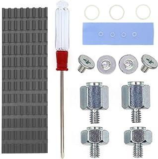 QTEATAK PCIe NVMe M.2 SSD Heatsinks Cooler & Mounting Screws Screwdriver Kit