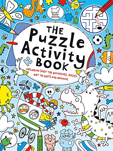 The Puzzle Activity Book (Buster Puzzle Activity, 1)