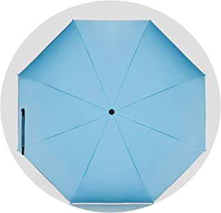 Uv Umbrella Rain Women Folding Big Clear Umbrella Men Gift Corporation Parasol Small Unbrella Cute Windproof Paraguas Skylanders,Light Blue