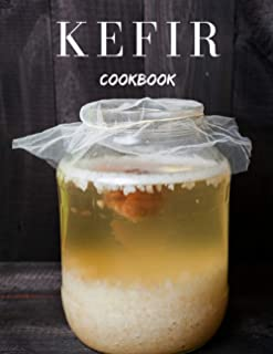 Kefir cookbook: Personalized drink recipe book to write yourself