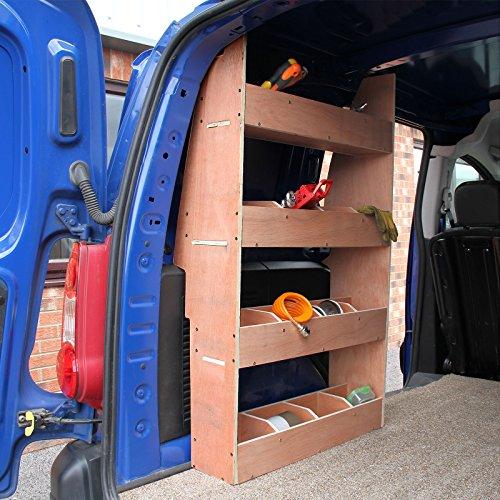 Monster Racking Fahrzeugeinrichtung Autoregal Lieferwagen Fahrzeugregal Fahrzeugausbau (Citroën Berlingo)