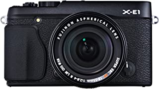 Fujifilm X-E1 16.3 MP Compact System Digital Camera with 2.8-Inch LCD and 18-55mm Lens (Black)
