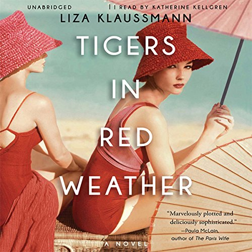 Tigers in Red Weather audiobook cover art