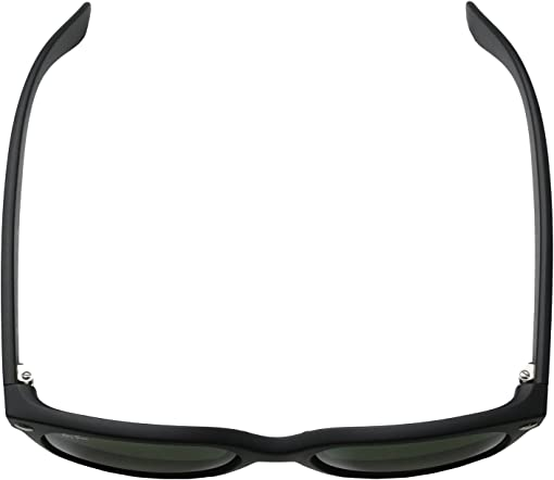 Black Rubber Frame/Green Lens