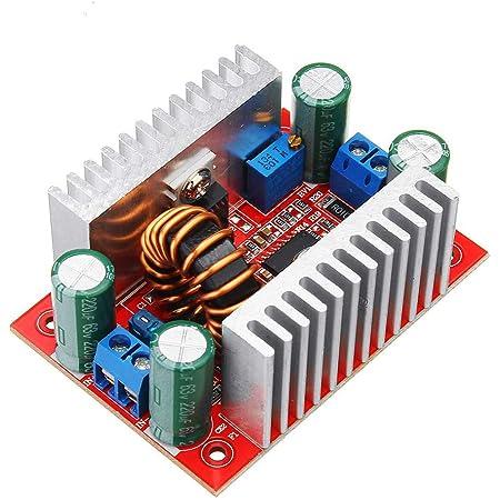 Classe defficacit/é /énerg/étique A 200W DC-DC Boost Converter 6-35V to 6-55V Step Up Charger Power Module avec /étui en aluminium
