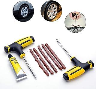 a48971aaa7a Kit de reparación de neumáticos,Herramienta de reparación de neumáticos sin  cámara para Motocicletas de