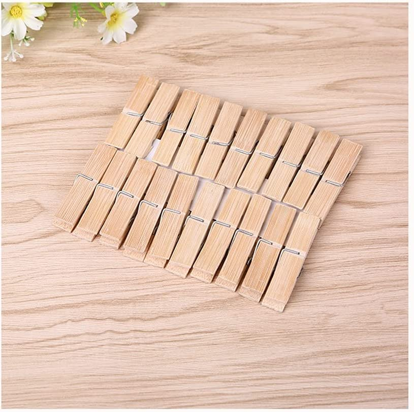 DEI QI Natural Regular dealer Wooden Clothespins 2.3X Inches 2021 autumn and winter new Clothes Pegs 0.4