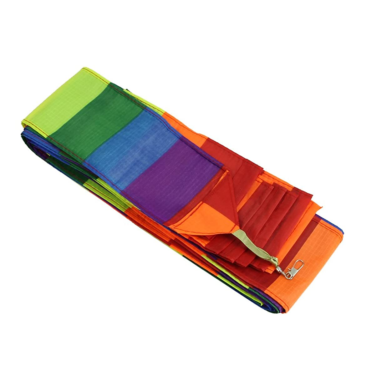 Wrisky Sale 10M Super Nylon Rainbow Kite Tail Line Sports Kite Accessory New