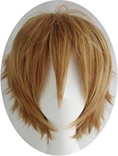 short light brown wig