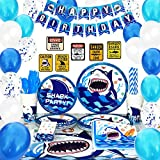 Shark Party Supplies Set