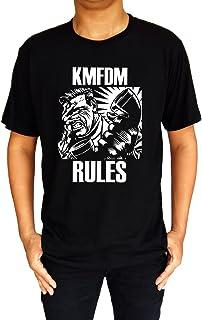 Intuch KMFDM Rules Kein Mehrheit F?r Die Mitleid Band Logo Men's T-Shirt