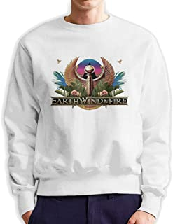 Men Pullover Sweatshirt Design Logo Excellent Earth Wind & Fire Heart Hand Males Round Neck.O-Neck Sweatshirts