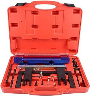 Qiilu Engine Camshaft Timing Tool Locking Kit 2.5/3.0 Chain Drivel Fit for BMW N51 N52 N53 N54 N55