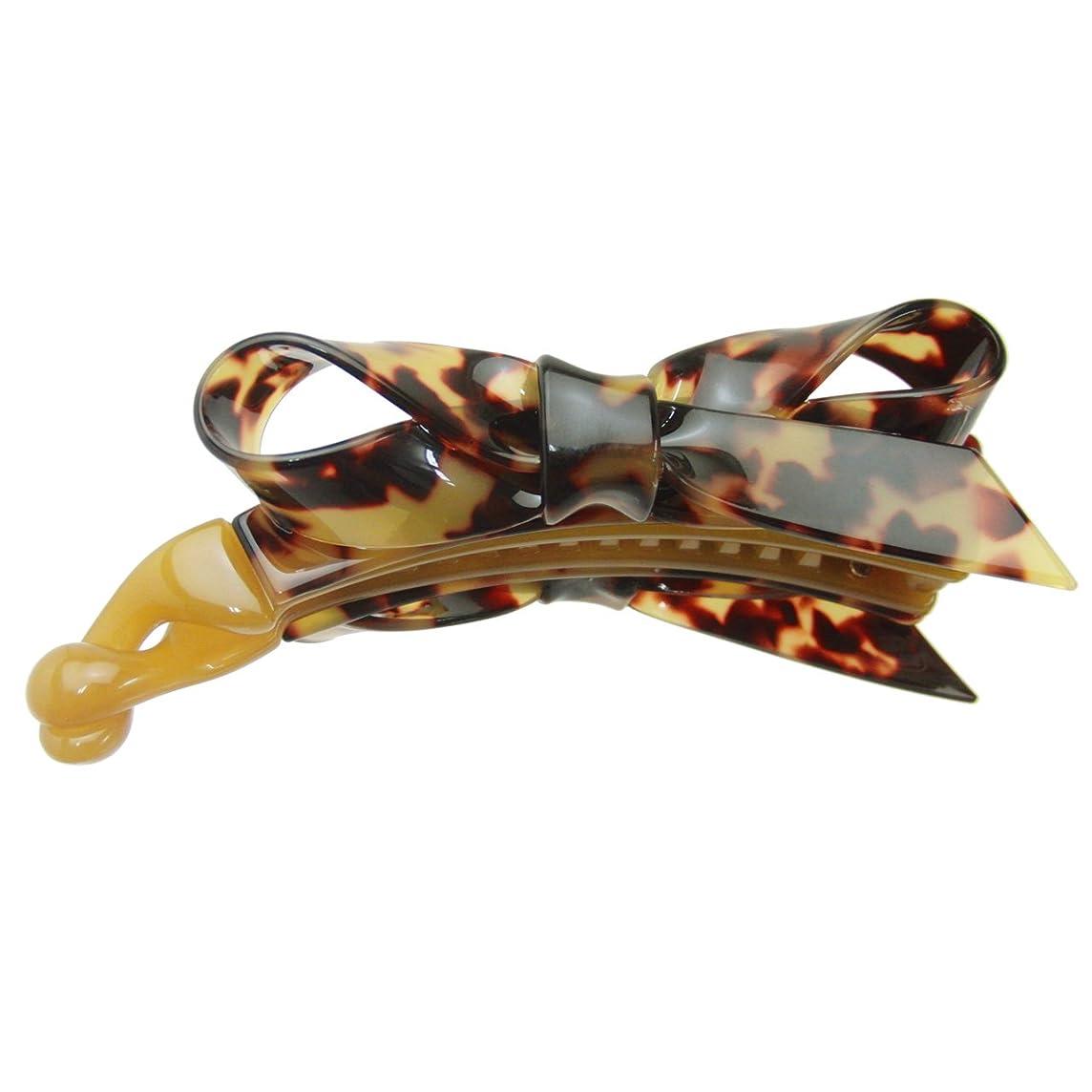 豆腐弾力性のあるピグマリオンhaclm580nndbr ヘアアクセサリー 髪飾り (リトルムーン) Marble Marble バナナクリップ クリスティアーヌ ダークブラウン