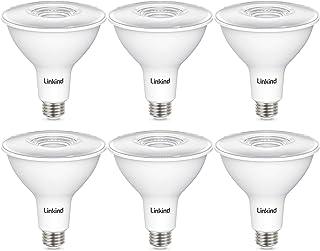 Linkind PAR38 Dimmable LED Light Bulb, 13W (90W Equivalent), 5000K Daylight, 1050lm, Indoor/Outdoor Flood Light, Wet Locat...
