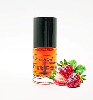 Aceite cuticula - Con vitaminas A,E, AROMA FRESA -5ml