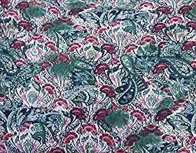 Organic Cotton Spandex Print #1 Fabric by The Yard Stretchy Jersey Knit 8/2/17